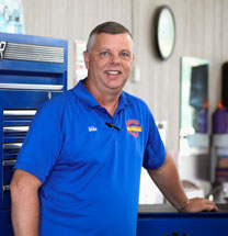 Mike Crist, owner of Mike's Automotive in Tyler, TX