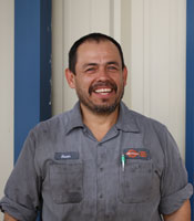 Oscar Camargo, Master Technician for Mike's Automotive in Tyler, TX